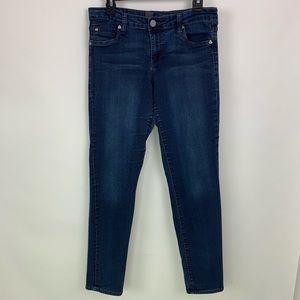 Kut from the Kloth Dark Wash Skinny Stretch Jeans